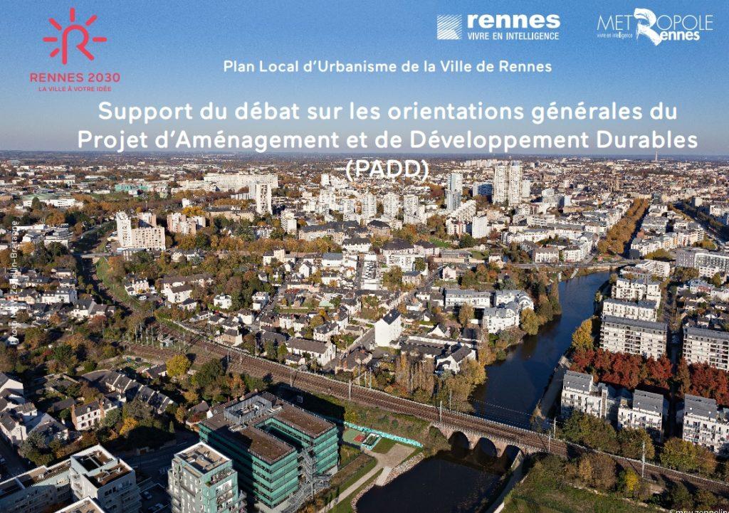 Le projet urbain Rennes en 2030 en détail